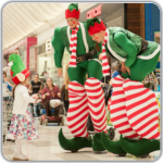Bouncing Elves Christmas entertainment