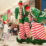 bouncing stilt walkers Melbourne and Victoria elves
