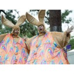 Giant Easter Bunnies - Easter Entertainment