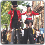 Circus Ringleaders - stilt walkers