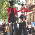 stilt walkers Melbourne and Victoria Ring Masters