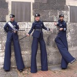 Stilt Police stilt walkers corporate entertainmet
