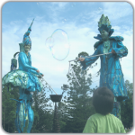Bubble making children's entertainers