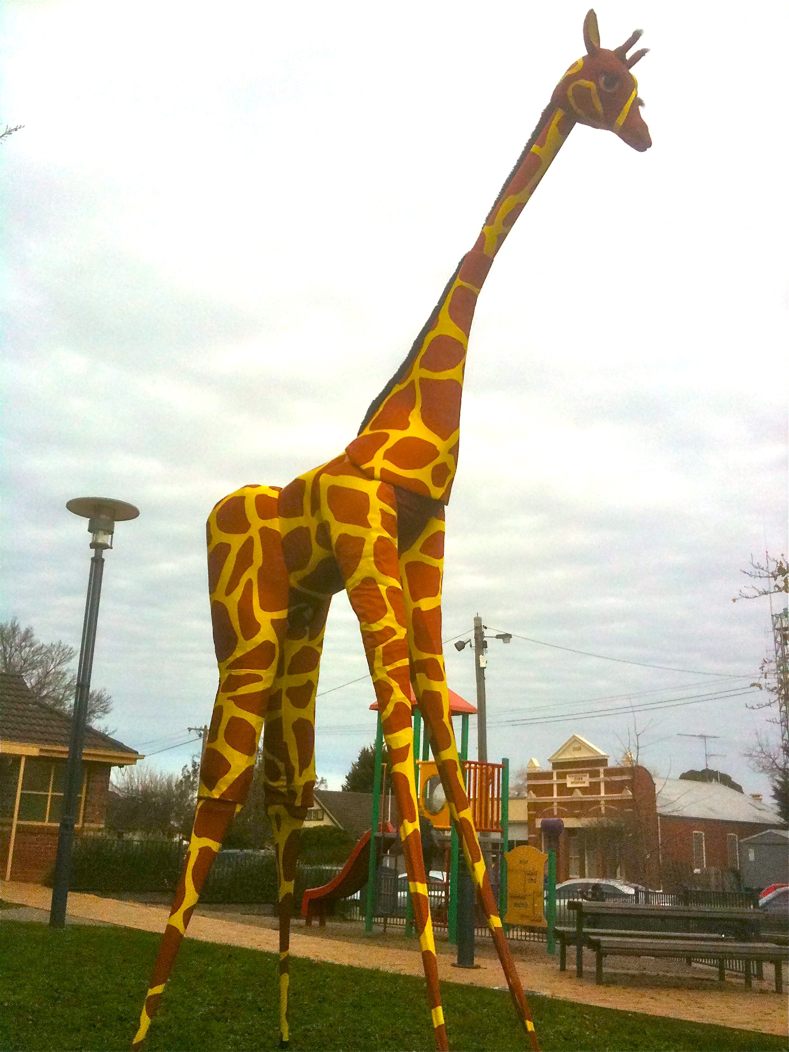Gemma Giraffe stilt walker