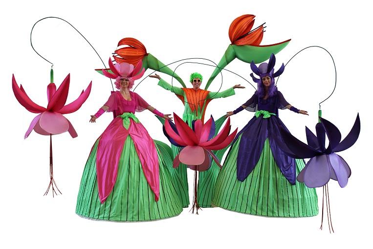Trio The Long stems - stilt walkers - event entertainers