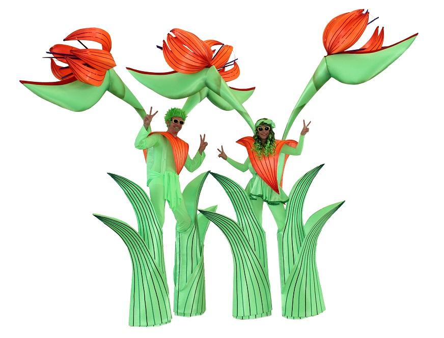 The Long stems - stilt walkers - event entertainers